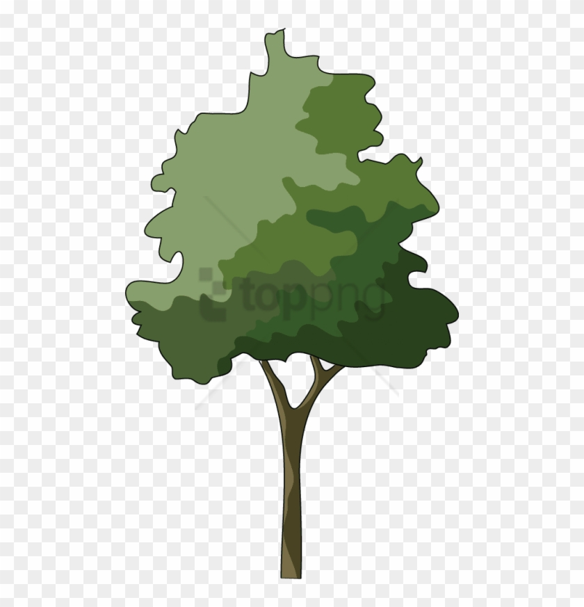 Free Png Trees In Elevation For Photoshop Png Image.