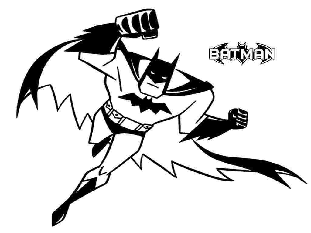 Cliparts Library: Batman Clipart Coloring Pages.
