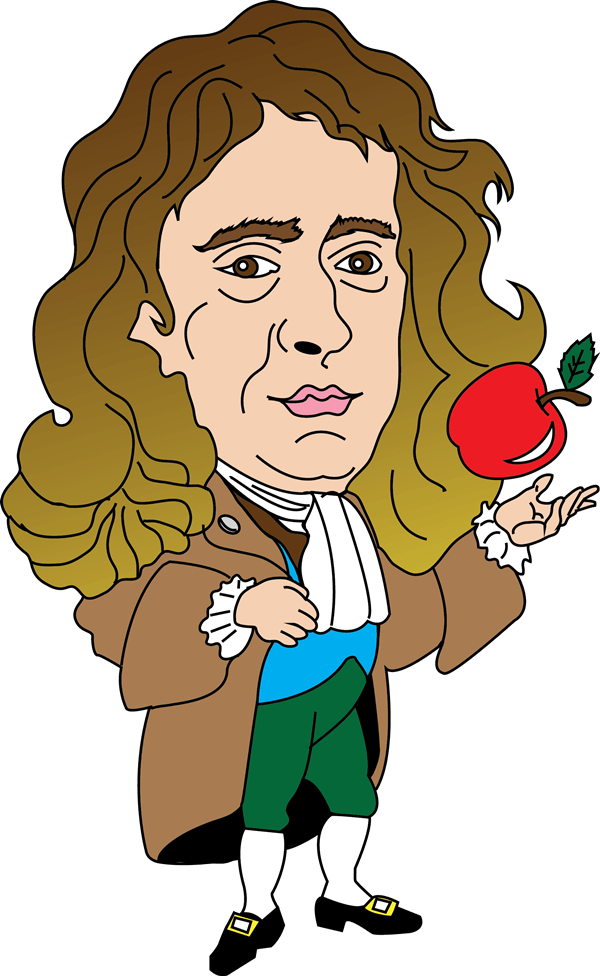 Isaac Newton Cliparts.
