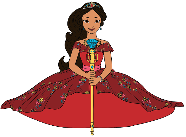 Elena of Avalor Clip Art Images.