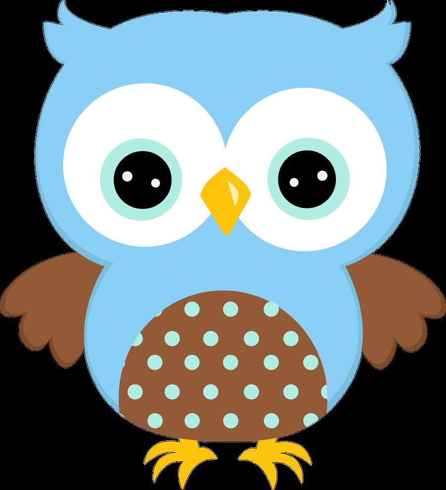 Blue Owl Clipart.