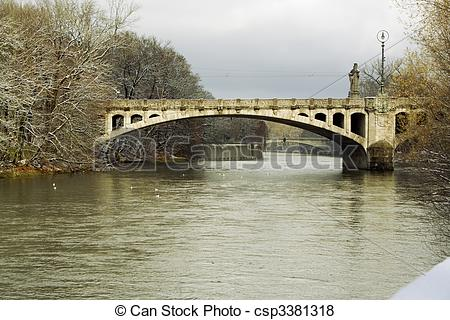 Pictures of Bridge Over the Isar.