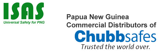 ISAS :: CHUBBsafes Distributors in Papua New Guinea.