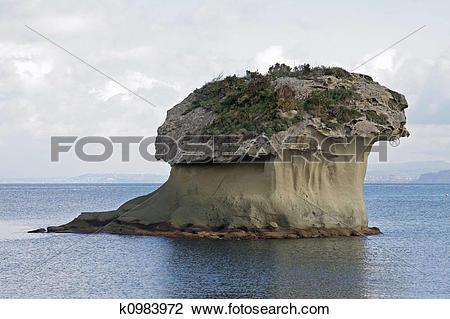 Stock Photo of Italy, ischia, mushroom k0983972.