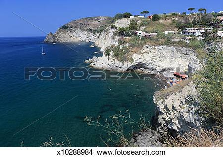 Stock Photo of Italy, Campania, Ischia Island, Sant'Angelo Distri.