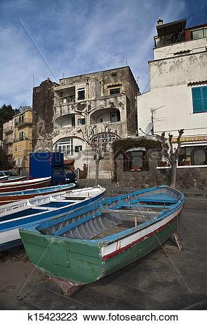 Stock Photo of Boccaccio place Ischia Ponte Ischia island (NA.