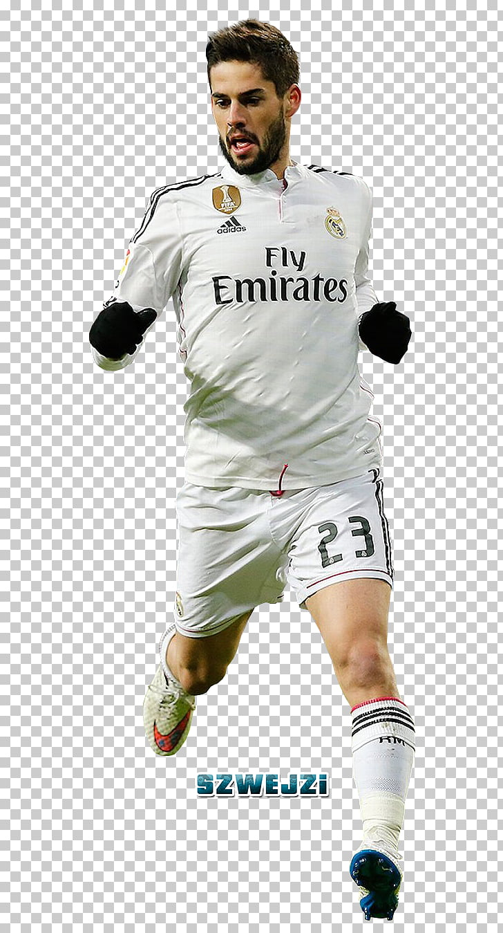 Isco Jersey Real Madrid C.F. Football player, football PNG.