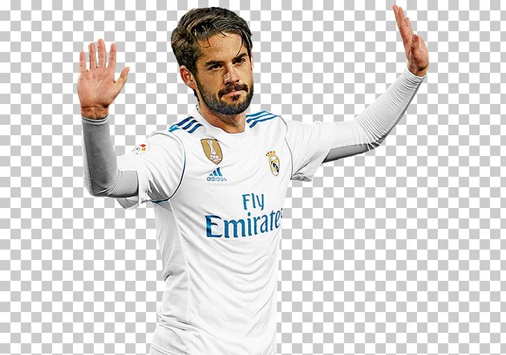 Isco FIFA 18 Real Madrid C.F. Jersey Football player.