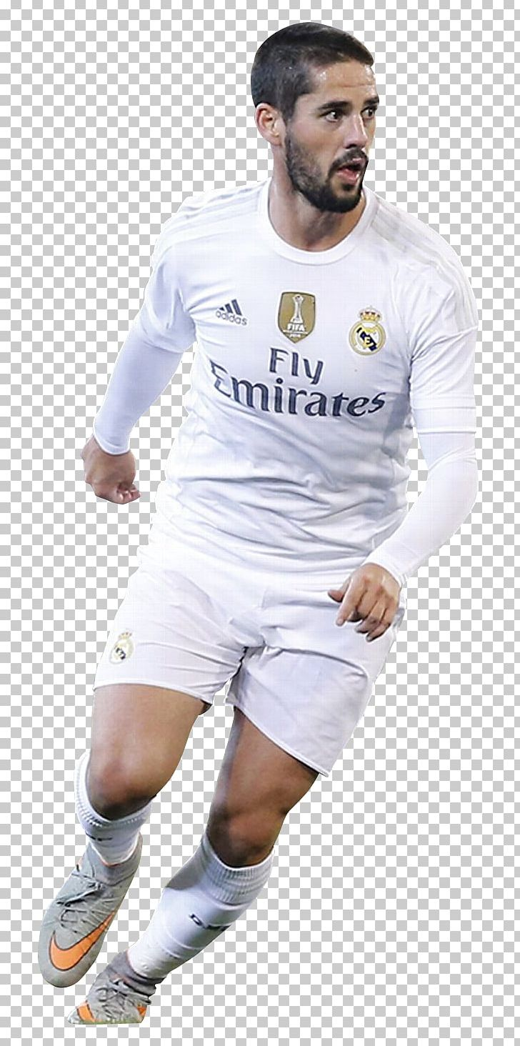 Isco 2018 FIFA World Cup Real Madrid C.F. Jersey Football.