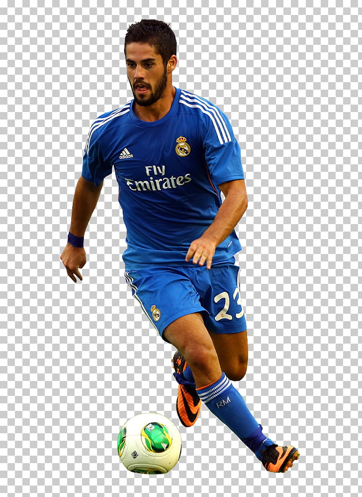 Isco Real Madrid C.F. Football player Rendering, Isco PNG.