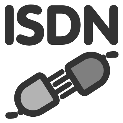 Free Clipart of Isdn Config.