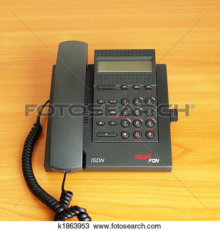 Stock Photo of digital(ISDN) telephone k1863953.