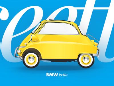 BMW Isetta 300 by Yana Deulina.