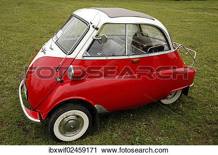 "Stock Photography of ""BMW Isetta, red and white"" ibxwif02459171."