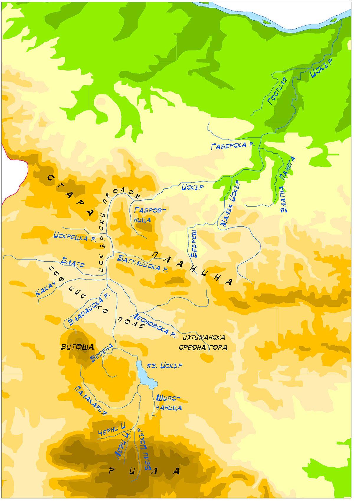 Iskar (river).