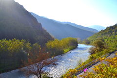 Iskar River,Bulgaria Stock Photo.