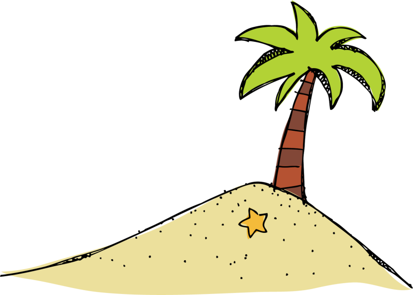 Island clip art tropical.