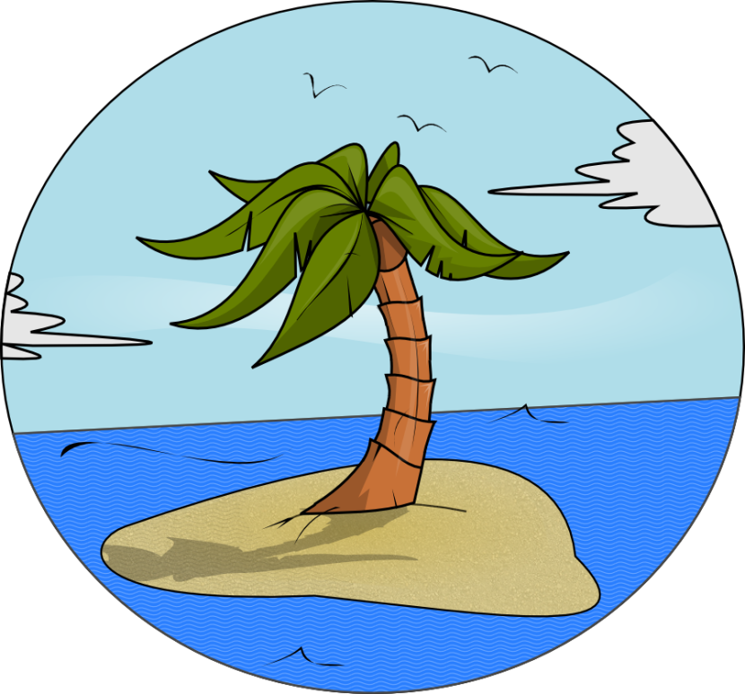 Best Island Clipart #17067.