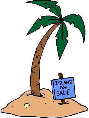 clipart island.