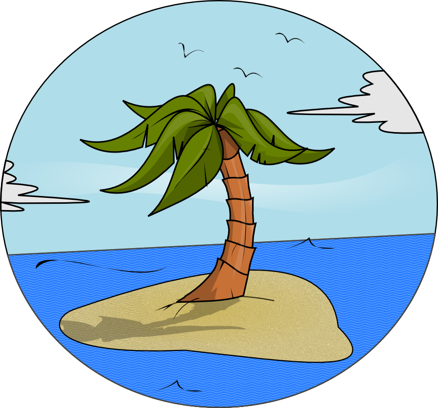 Island Free Clipart.