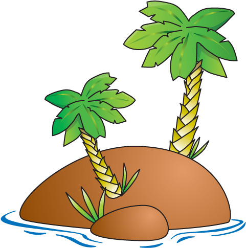 Island Free Clipart.