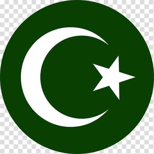 Symbols of Islam Star and crescent Mecca, Ramadan.