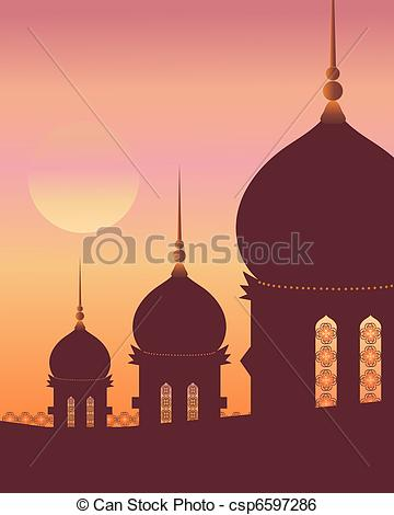 Islamic architecture Vector Clipart Royalty Free. 3,063 Islamic.