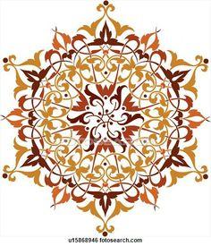 Clipart islamic art.
