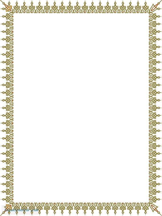 Vector Islamic Borders Frames.