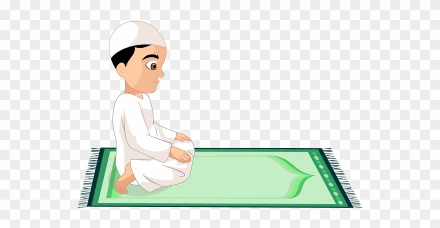 Prayer Vector Islamic.