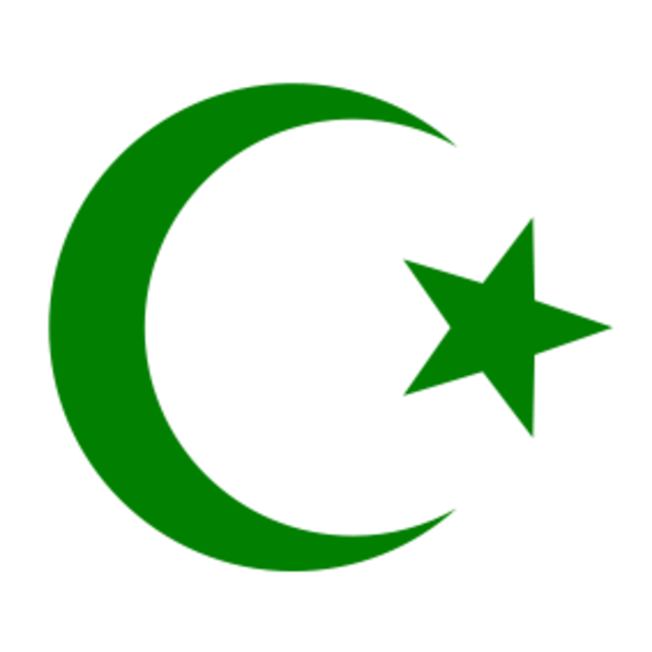 Green islamic clipart.