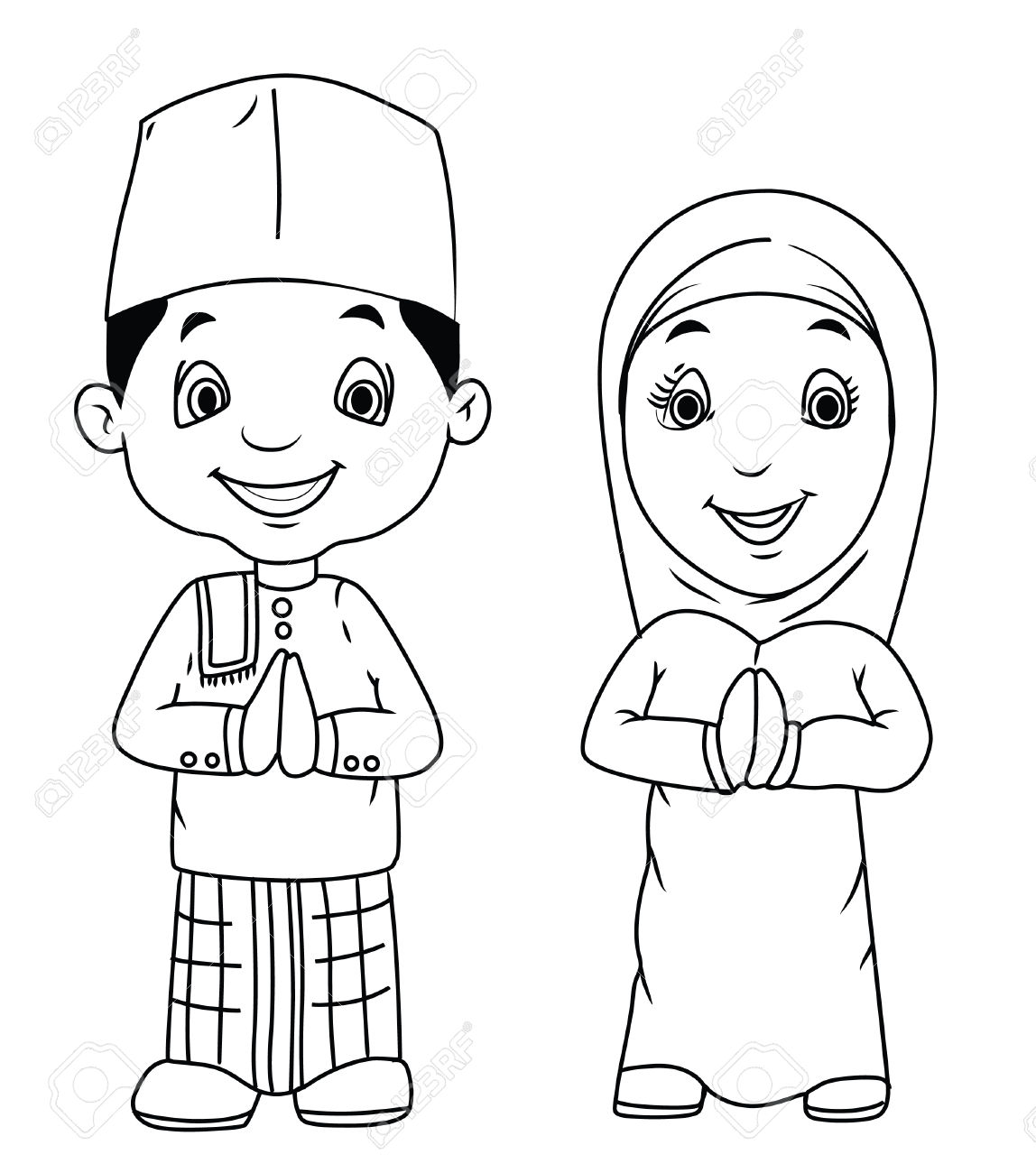 Islamic clipart black and white 4 » Clipart Station.