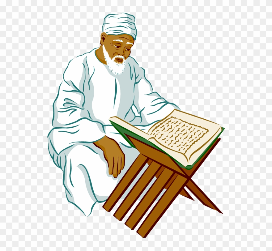 Person Islamic Clipart.