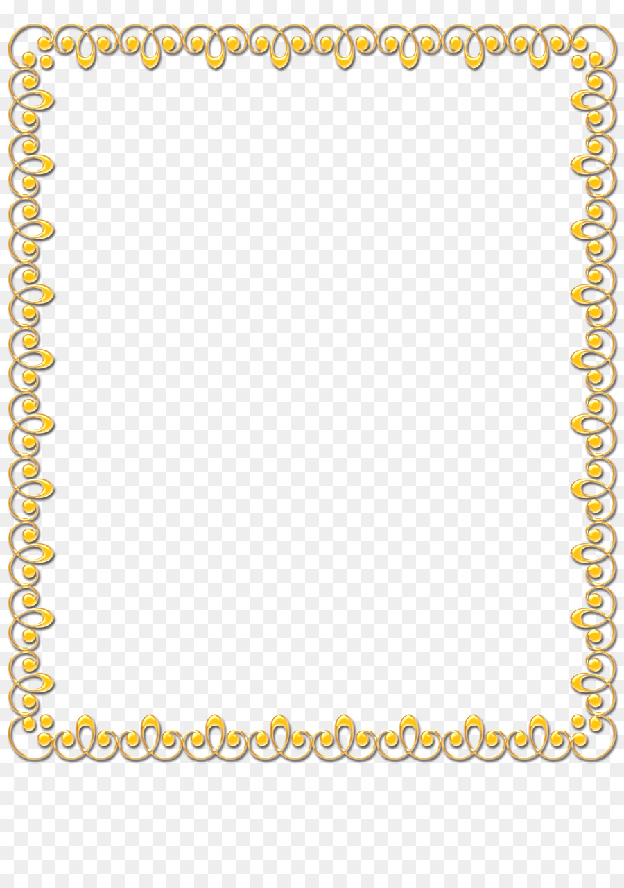 Background Yellow Frame png download.