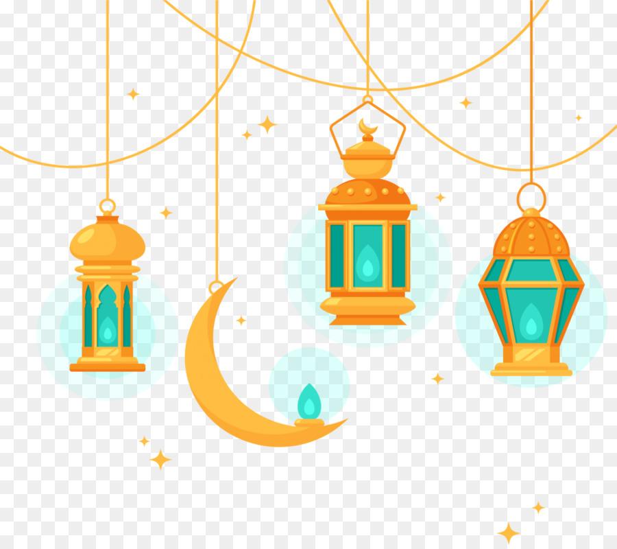 Eid Mubarak Light clipart.