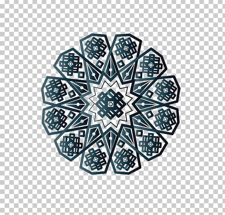 Islamic Geometric Patterns PNG, Clipart, Blue, Blue Abstract.