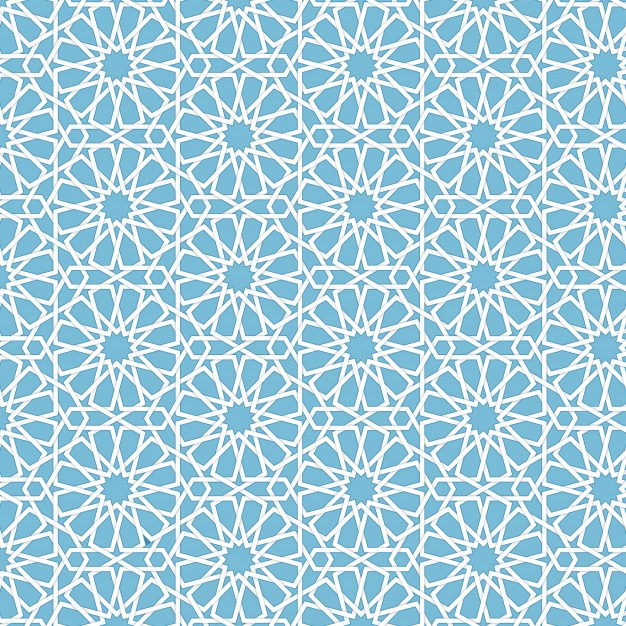 Vector abstract geometric islamic background. based on ethnic muslim.