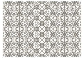 Islamic Pattern Free Vector Art.