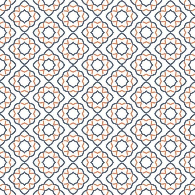 Abstract Seamless Geometric Pattern Background With Line, Ornament.