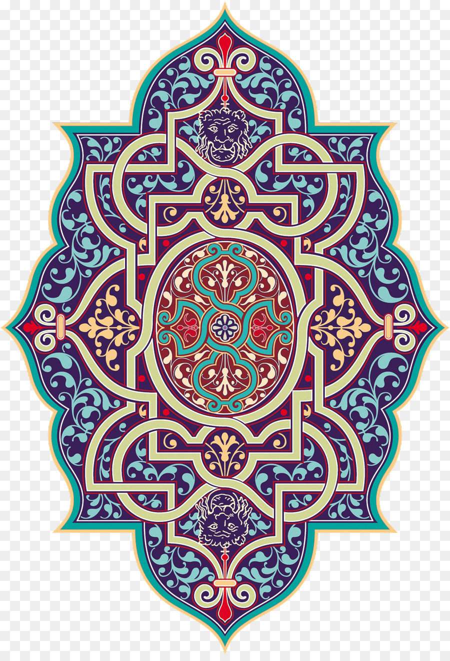 Islamic Background Pattern clipart.