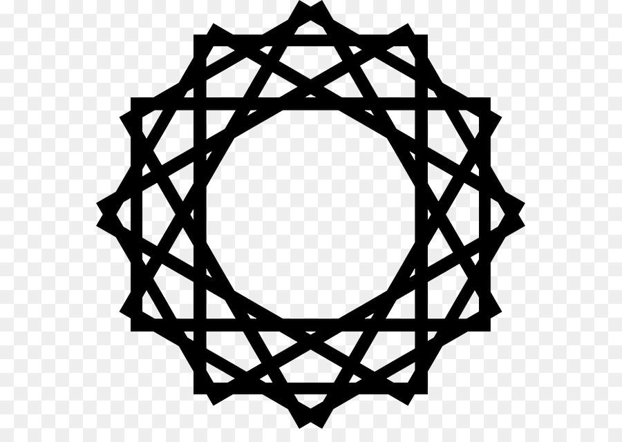 Islamic Background Black clipart.