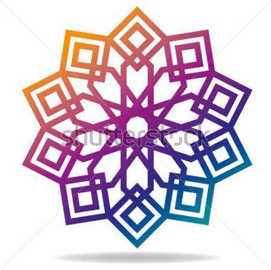 Islamic Pattern for Muslim Celebration stock vector.