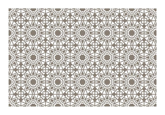 Seamless Islamic Pattern Vector.