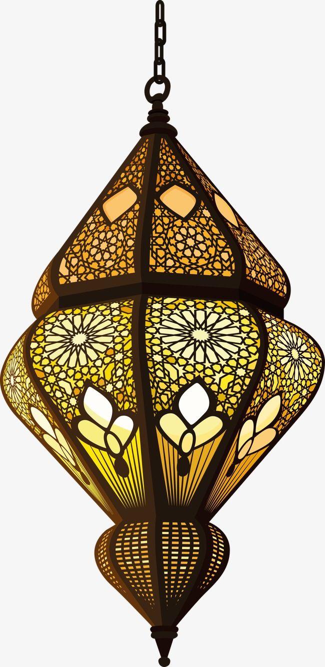 Islam Decorative Lamp, Decoration, Vector, Islam PNG Transparent.