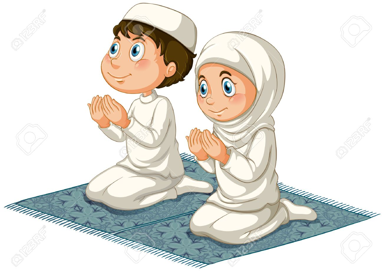 Islamic prayer clipart » Clipart Station.