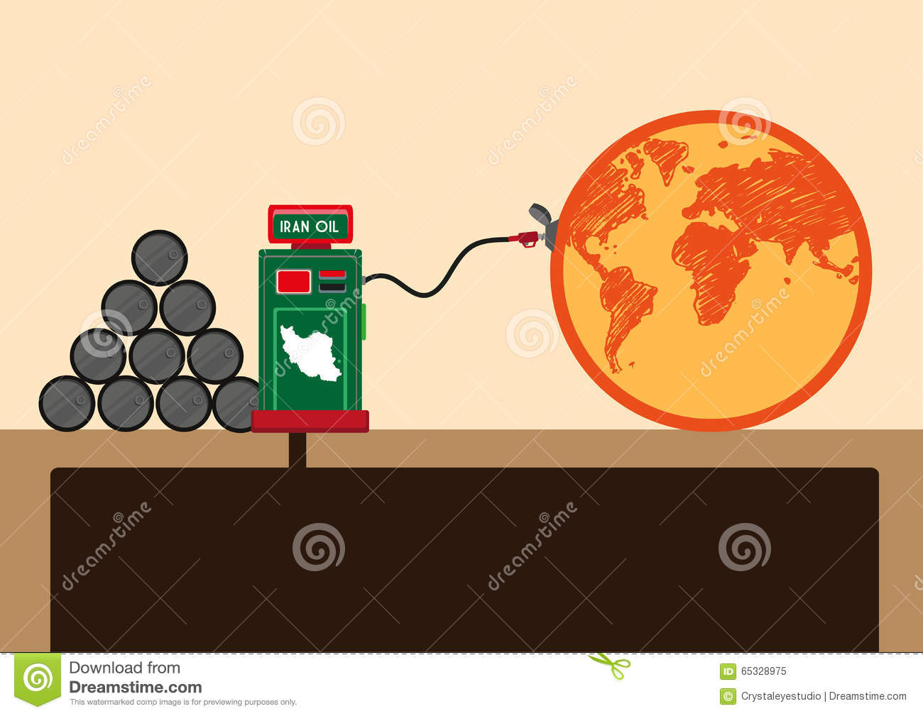 Islamic Republic Of Iran Supplies Oil To The World After Lifting.