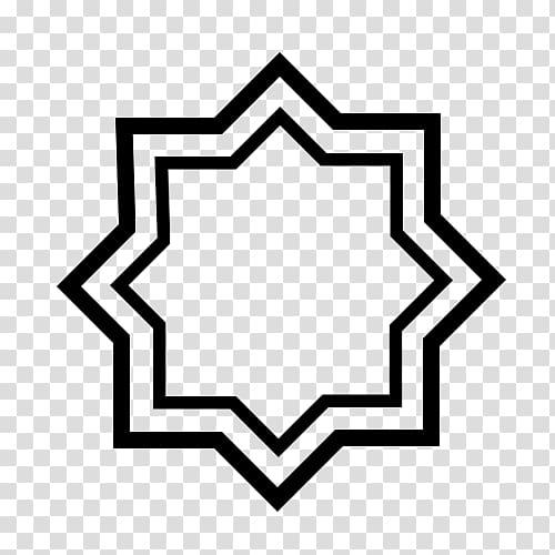 Islamic geometric patterns , design transparent background.