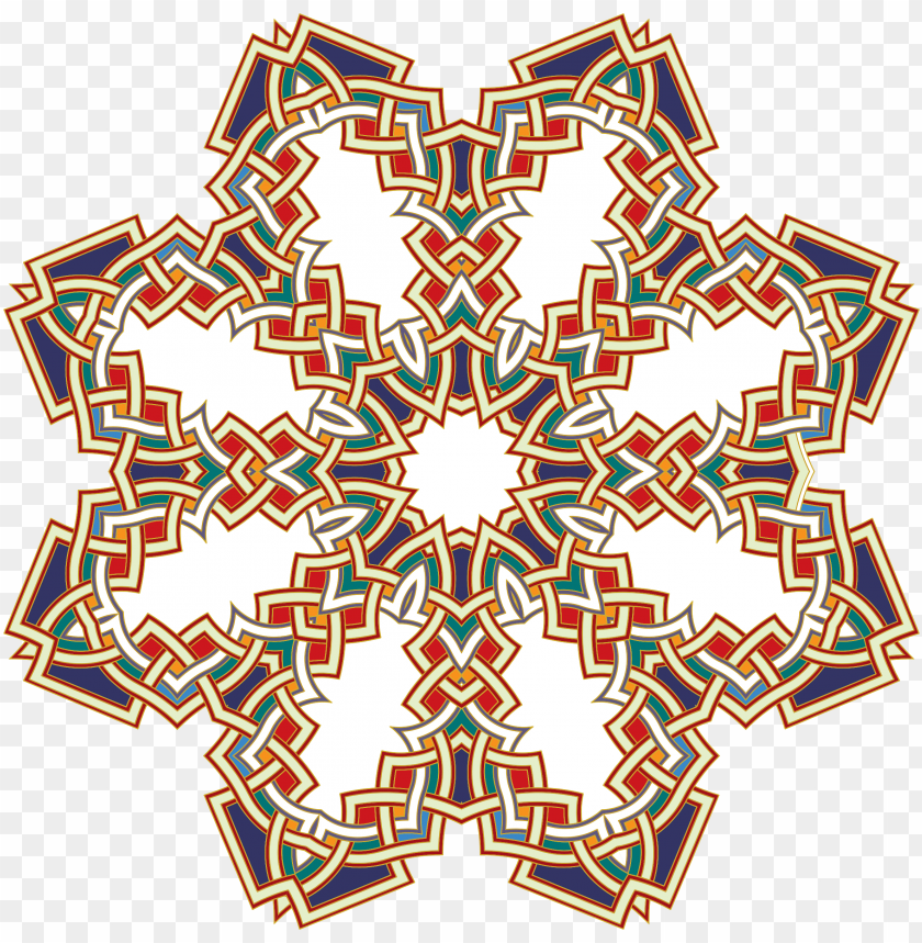 clipart islamic geometric art 2 png.