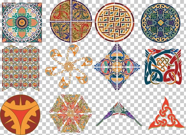 Celts Islamic art, Islamic pattern, assorted.