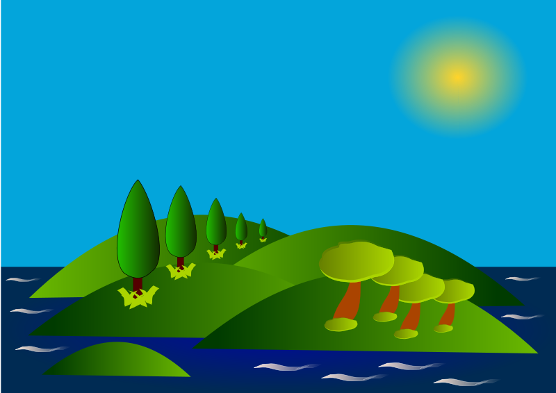 Island Clipart.